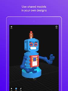 screenshot of 3DC.io — 3D Modeling version 1.1.0