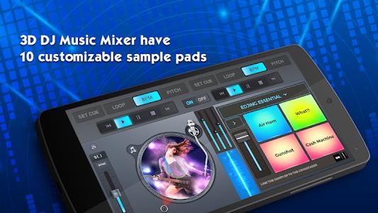 screenshot of 3D DJ – DJ Mixer 2019 version 1.1.28