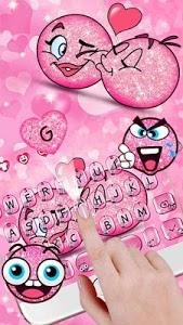 Download 3D Valentine Love Emoji Keyboard Theme 10001007 APK
