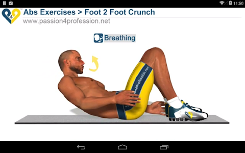 screenshot of 8 Minutes Abs Workout version 2.4.9