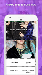 screenshot of ARMY Amino for BTS Stans version 1.1.8124