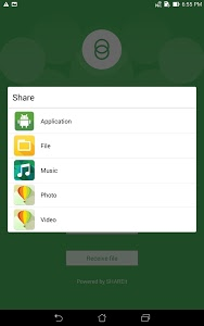 screenshot of Share Link – File Transfer version Varies with device