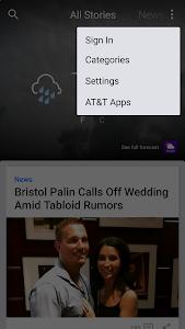 screenshot of AT&T Live version 3.0.4