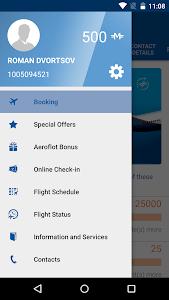screenshot of Aeroflot — Online Tickets version 3.15.1.459