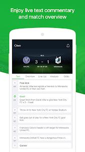 screenshot of All Football - Live Score, News, Transfers, Video version 1.9.3