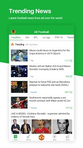 screenshot of All Football - Latest News & Live Scores version 3.1.3