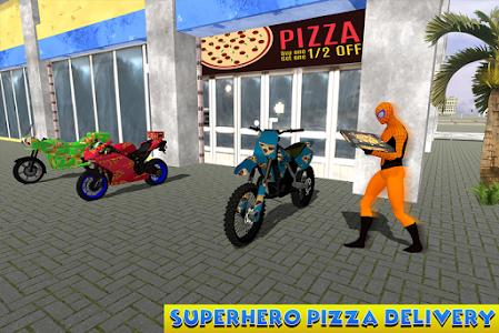Download Amazing Spider Hero Pizza Delivery 1.1 APK