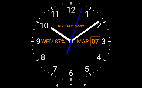Download Analog Clock Live Wallpaper-7 2.3 APK