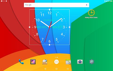 screenshot of Analog Clock Live Wallpaper-7 version 3.04