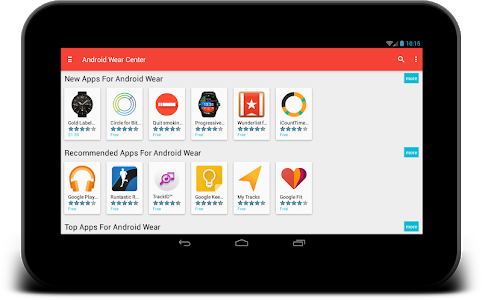 screenshot of Smartwatch Center Android Wear version 1.4