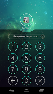 screenshot of AppLock version Varies with device