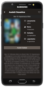 screenshot of Assistir Desenhos version 1.2.0