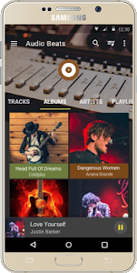 screenshot of Audio Beats - Music Player version v2.2