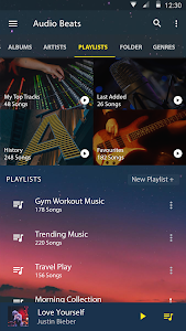 screenshot of Audio Beats - Mp3 Music Player, Free Music Player version v3.2