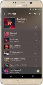 screenshot of Audio Beats - Music Player version v2.3