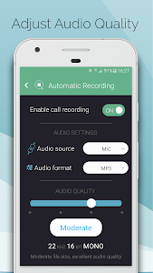 screenshot of Automatic Call Recorder & Hide App Pro - callBOX version 5.5