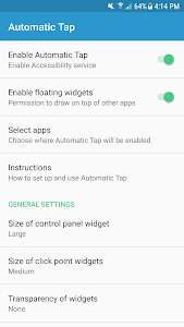 screenshot of Automatic Tap - Auto Clicker/Tap Sequence Recorder version 1.4.2
