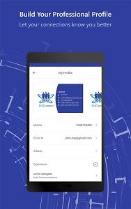 screenshot of BizConnect - Business Card Reader version 2.1.2