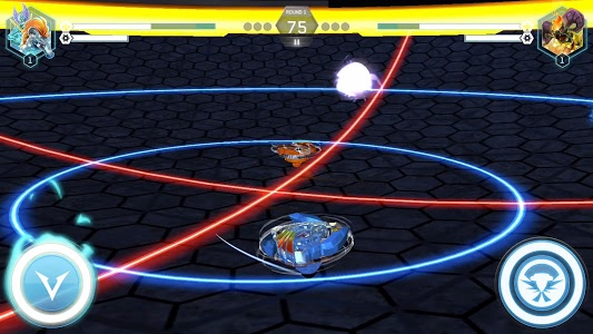 screenshot of BEYBLADE BURST app version 1.0