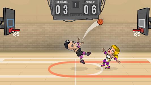 screenshot of Basketball Battle version 2.1.12