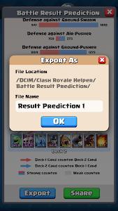Download Battle Result Predictor for CR 1.3.0 APK