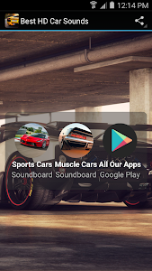 screenshot of Best HD Car Sounds version 2.2