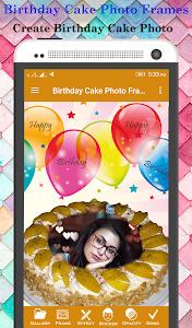 Download Birthday Cake Photo Frame 1.0.3 APK