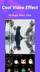 screenshot of Biugo— Magic Effects Video Editor & Photo Cutout version 1.3.00