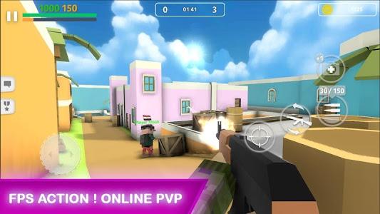 Download Block Gun: Gun Shooting - Online FPS War Game 2.1 APK