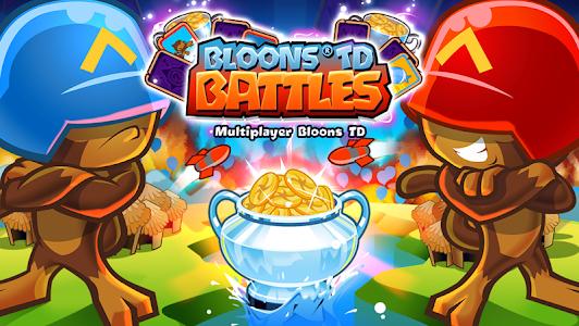 screenshot of Bloons TD Battles version 6.1.1