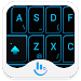 Download Neon Blue Light Keyboard Theme 1 APK