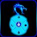 Download Blue Neon Dragon Go Locker 1.10 APK