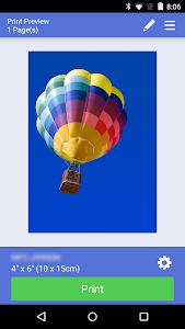 screenshot of Brother iPrint&Scan version 3.3.0