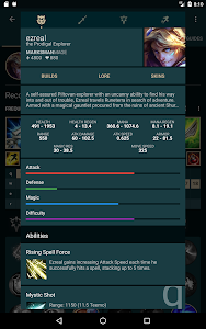 Download Builds for LoL 1.24.5 APK
