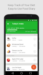 Download Calorie, Carb & Fat Counter 2.5.0 APK