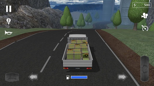 screenshot of Cargo Transport Simulator version 1.7