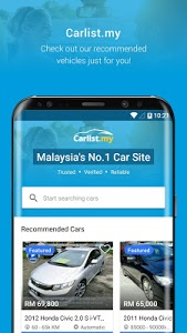 screenshot of Carlist.my - New and Used Cars version 5.5.4
