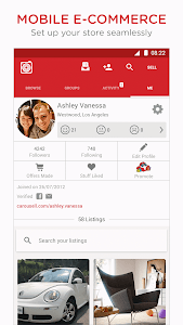screenshot of Carousell: Snap-Sell, Chat-Buy version 2.7.0