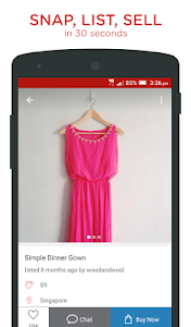 screenshot of Carousell: Snap-Sell, Chat-Buy version 2.1.6