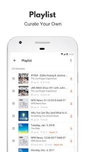 screenshot of Castbox: Free Podcast Player, Radio & Audio Books version 7.48.2-181227070