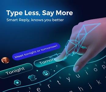 screenshot of Cheetah Keyboard - Emoji & Gif Keyboard version 4.32.0
