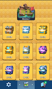 screenshot of Chest Tracker For Clash Royale version 1.0