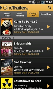 Download CineTrailer Cinema & Showtimes  APK