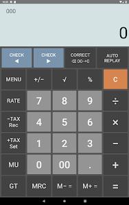 screenshot of Citizen Calculator - Check and Correct version 1.7.4