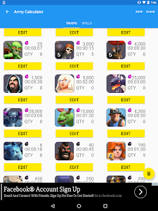 screenshot of ToolKit for Clash of Clans version 2.51