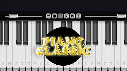 screenshot of Piano Classic version 123.0.0