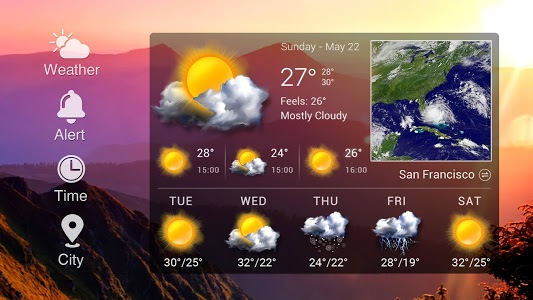 Download Easy weather forecast app free 13.1.0.4100 APK