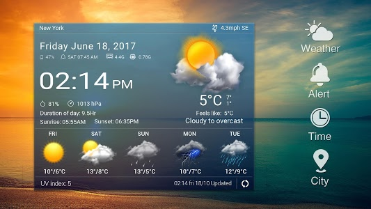 screenshot of Easy weather forecast app free version 9.0.4.1406_pic