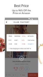 screenshot of Club Factory-Fair Price version 2.49