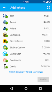 screenshot of Coinomi Wallet :: Bitcoin Ethereum Altcoins Tokens version 1.8.7